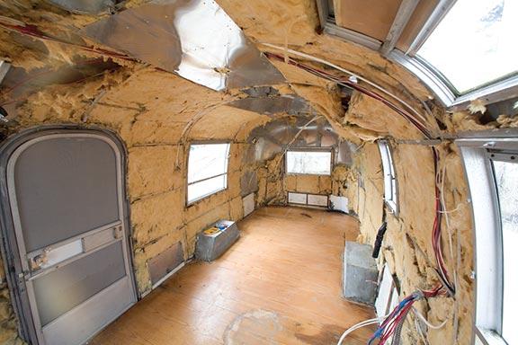 vintage airstreams Restoring